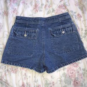 GAP Shorts - High waisted mom shorts